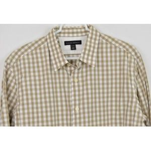 Banana Republic Large Shirt Plaid